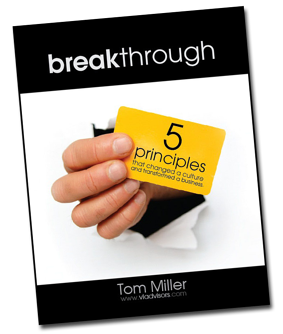 Breakthrough eBook by Tom Miller