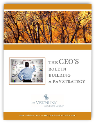 CEOs Role in Building a Pay Strategy