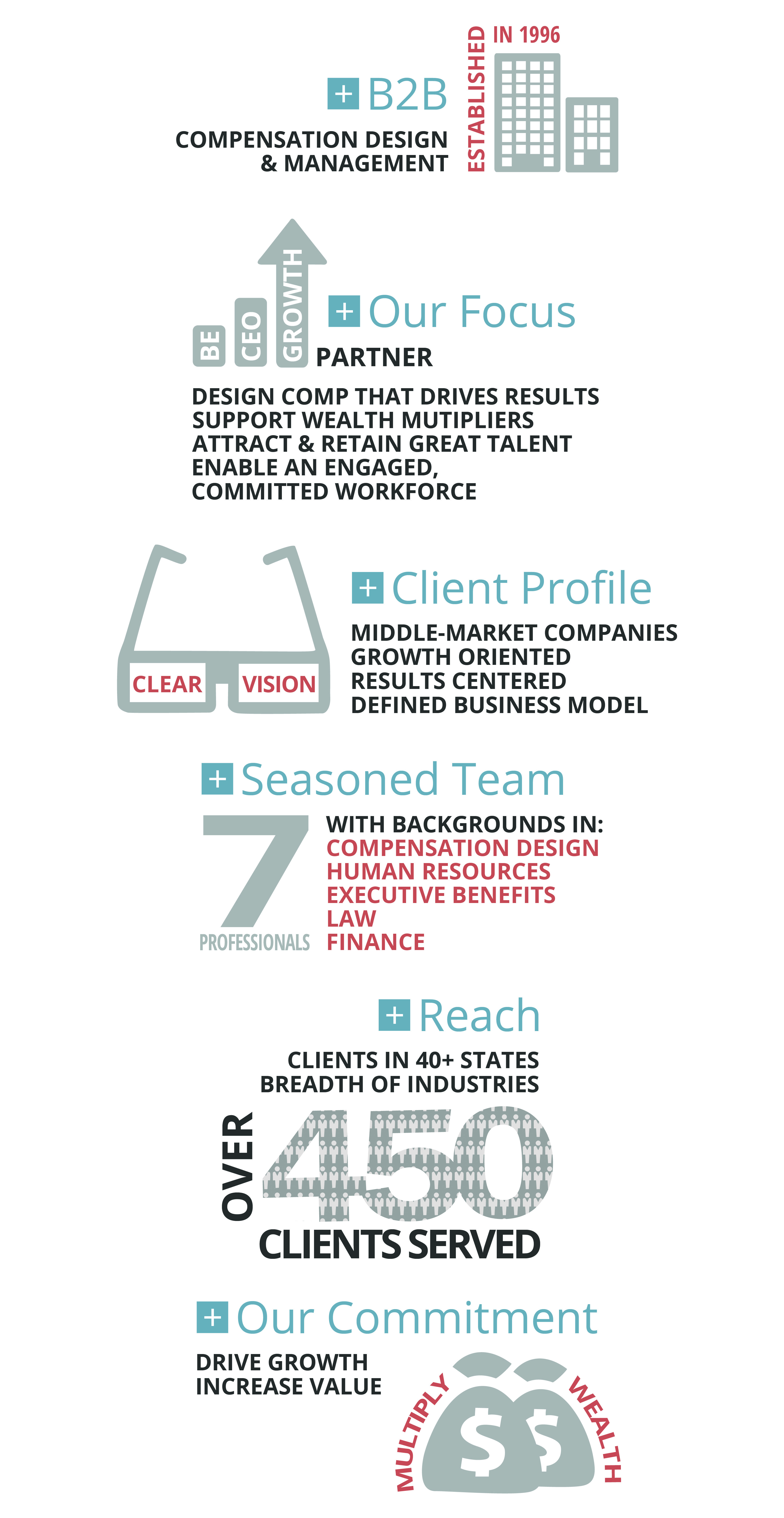 VisionLink Who We Are Infographic